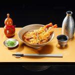 天ぷらそばに七味唐辛子